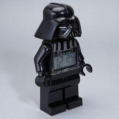 Lego Darth Vader alarm clock