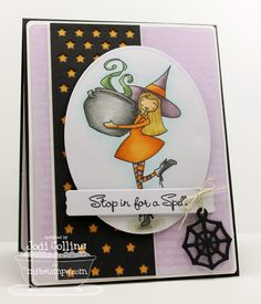 à la modes Bewitching; Trick or Sweet; Blueprints 5 Die-namics; Blueprints 6 Die-namics; Scattered Stars Die-namics Oval STAX Set 1 Die-namics; Sentiment Strips 2 Die-namics; Halloween Charms Die-namics - Jodi Collins