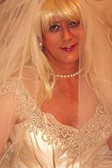 Isn't she lovely a gorgeous crossdressing bride