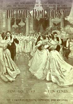 Ladies Home Journal 1899 magazine