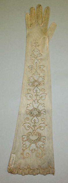 1900 gloves pattern vintage