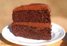World's Best Chocolate Birthday Cake (grain free, dairy free, nut free, and low carb)