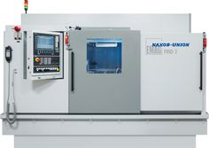 The new PMD 2 Grinding Machine from EMAG / NAXOS-UNION  –  Grinds Down the Cost of Crankshaft Production. #emag #crankshafts