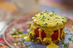"""Vegan """"eggs"""" benedict, from Vegan Brunch"""