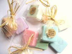DIY shower favors - somebody needs to get married so I can throw them a shower!
