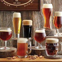 8 piece beer tasting set from RedEnvelope.com