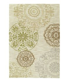 """Linen Inspire Rug by Kaleen on #zulily"""""""