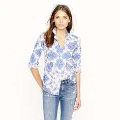 Liberty perfect shirt in assorted florals