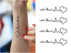 At least 58 yuan 2012 new candy tattoo sticker heartbeat love waterproof tattoo sticker special red crown