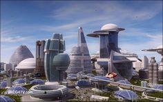 #futuristic #architecture #futurism