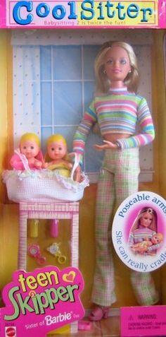 Barbie Cool Sitter Teen Skipper Doll (1998)