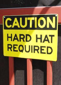 hat requir, hard hat