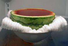 Refrigerate the Watermelon Jello Shots