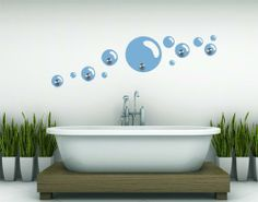 Best Quality Vinyl Wall Sticker Decals - Bubbles ( Size: 35in x 16in - Color: beige ) - No: H1 by Wall Spirit. $64.95. Choose from over 750 exclusive designs in over 30 different colors from small to giant size wall decals. Magical wall designs, wall decals, wall words, wall clocks and wall hangers from Wall Spirit. Application instructions included. Service Hotline Mon-Fri from 9-5 PST 877 493-1690. Fast delivery with FedEx and Free Shipping for orders of $65 and over. _______...