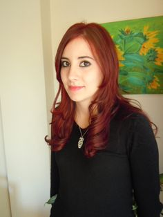 Red hair; 6.6i Alfaparf (Thalabe)
