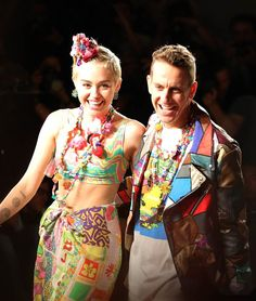 Jeremy Scott x Miley Cyrus - Miley Makes Her Runway Debut