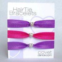 Heart-Hair-Tie-Bracelets