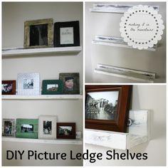 DIY Picture Ledge Sh