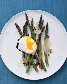 Roasted Asparagus and Eggs, Wholeliving.com