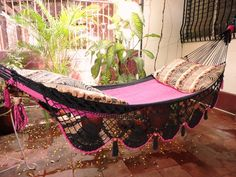 I LOVE this PINK hammock  and the price is right...perfect for backyard in springtime!  #springintothedream