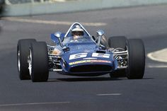 Indy 500, 1969: Mark Donohue in the Roger Penske's team first entry, an Eagle, which started 4th and finished 7th. Donahue and Penske won the race in 1972.