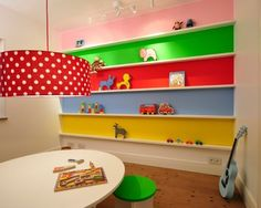 Even a DIY Challenged person like me could recreate this beautiful playspace! #popandlolli #pinparty