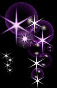 Beautiful Bubbles Purple Starry Shimmer ...