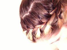 Braid w/ponytail @leannewestmoreland