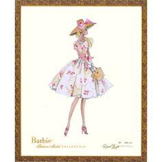 I need this;) Limited Edition Vintage Ilona Barbie Print from PoshTots