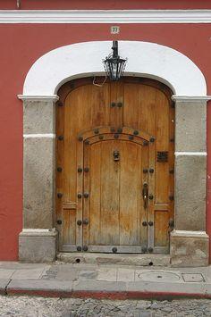 Doors of Antigua, Guatemala