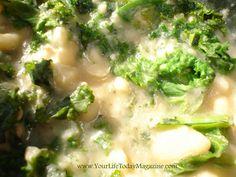 Easy White Bean & Kale Soup