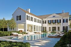 the hamptons houses, white houses, perfect houses, pool, exterior house design