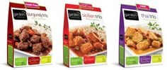 Gardein Trio Complete Meal Products (fake meat)