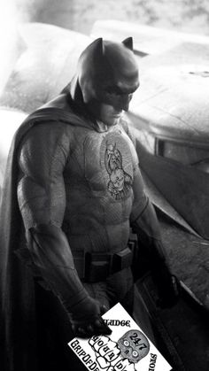 Affleck's sad batman can't believe how good we are.  Courtesy of The Phantom Bunburyist