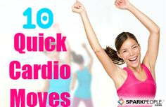 Switch up your #workout today with these 60-Second #Cardio Moves! | via @SparkPeople #TeamSkinnyJeans #fitness