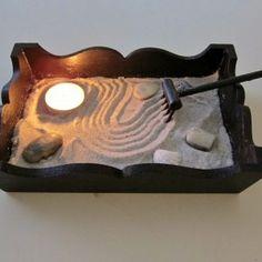 Mini Zen Garden with Votive Candle