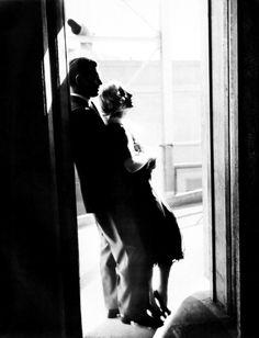 Clark Gable and Carole Lombard