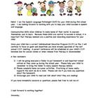 Speech Language Pathologists: Heading back to school soon and need an introduction letter to send home to parents?  This Welcome Back Packet has an...