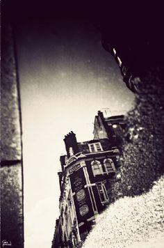 London in puddles; Gavin Hammond