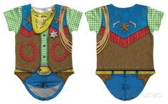 Cowboy Costume Romper for infant at allposters.ca