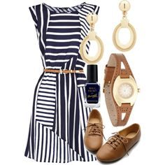 teacher budget, beauti dress, boyfriend shoe, dresses, polyvore teacher outfits