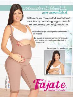 Fajas maternas, Fájate para ayudarte en tu proceso de gestación.