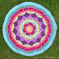 Large Mandala Sophies Mandala   Part 3  {Large} crochet mandala free pattern, sophi mandala, crochet patterns, larg mandala