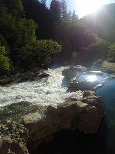 Natural hot springs. Three forks trail. Spanish fork, Utah.