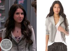 See Dad Run: Season 2 Episode 3 Emily's Grey Denim Jacket