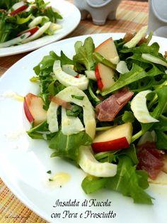Insalata di Rucola con Pera e Prosciutto: Pear and Prosciutto Arugula salad ~ The Complete Savorist