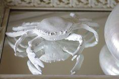 Beach Decor Cast Iron Crab Beach Decor by beautifuldetailswed, $23.00