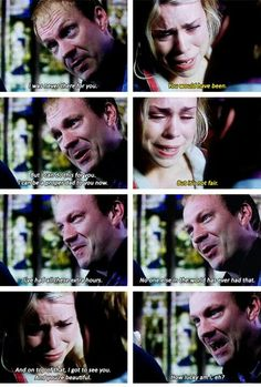 Rose and her daddy. <3 *Crying all the tears*