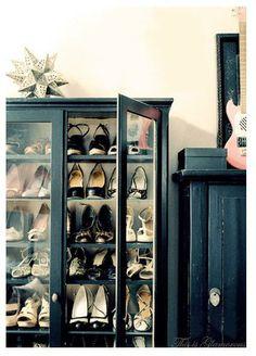 shoe storage china cabinet