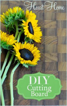 DIY End Grain Cutting Board~you can do this!!!